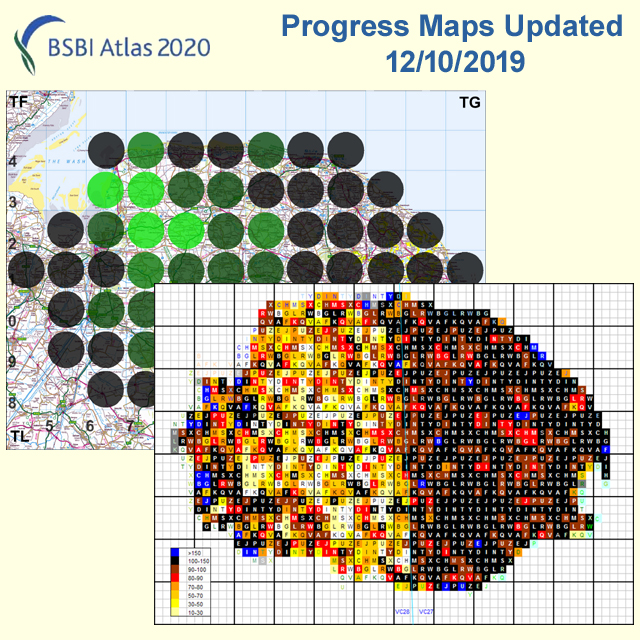 Atlas progress maps updated