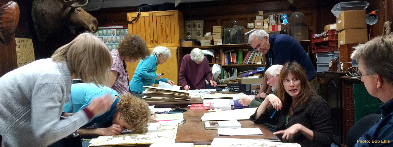 A herbarium workshop by Bob Ellis